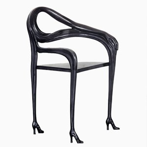Fauteuil-Sculpture Black Label Edition Limitée Dalí Leda de BD Barcelona