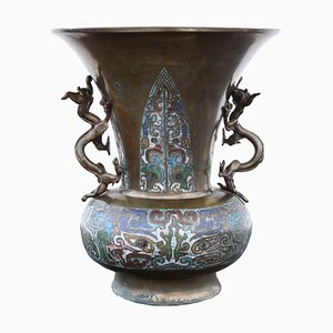 Late 19th-Century Chinese Bronze Vase