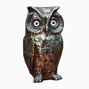 Resin Owl from Freddotherm, 1970s