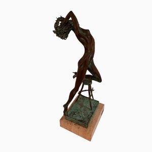 Vintage Bronze Statue by Italo Celli