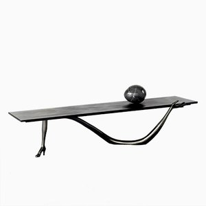 Black Label Limited Edition Dalí Leda Low Table-Sculpture from BD Barcelona