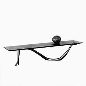Tavolo scultoreo Dalì Leda nero edizione limitata di BD Barcelona