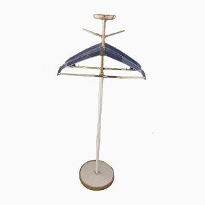 Valet doppio in ottone e plexiglas, anni '50