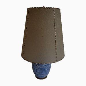 Tischlampe mit Pergamentschirm von WMF, 1950er
