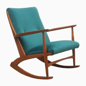 Danish Rocking Chair Model 97 by Soren Georg Jensen for Barrels Furniture