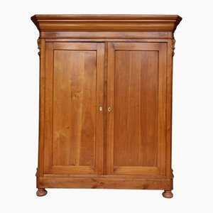 Cherry Wood Wardrobe, 1860s