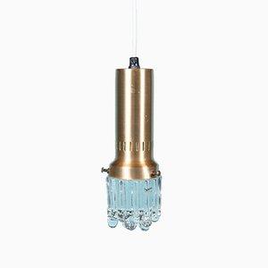 Dänische Eiszapfen Deckenlampe von Vitrika, 1960er