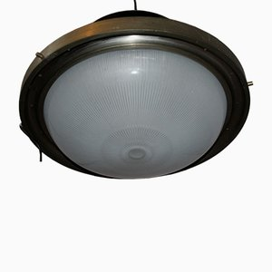 Black Ceiling Lamp by Sergio Mazza for Artemide, 1960s