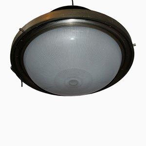Schwarze Deckenlampe von Sergio Mazza für Artemide, 1960er