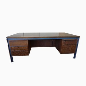 Large Wengé Desk by Theo Tempelman for AP Originals, 1960s