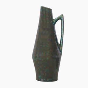 Mid-Century Keramik Vase von Heinz Siery für Scheurich