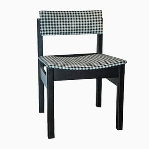 GR69 Dining Chair in Houndstooth Upholstery by Robert Heritage for Gordon Russell, 1969