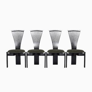 Totem Dining Chairs by Torstein Nilsen for Westnofa, 1980s, Set of 6