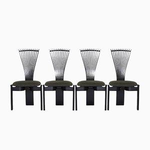 Totem Esszimmerstühle von Torstein Nilsen für Westnofa, 1980er, 6er Set