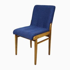 Vintage Blue Aga Chair by Józef Chierowski, 1970s