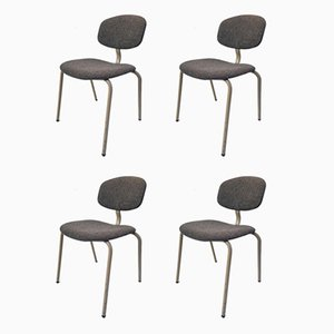 Dining Chairs by Pierre Paulin for Strafor, 1970s, Set of 4
