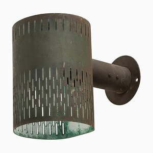 Swedish Model 1070 Wall Light by Hans Bergström for Ateljé Lyktan, 1940s