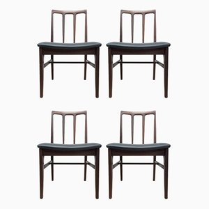 Mid-Century Teak Dining Chairs from Younger, Set of 6