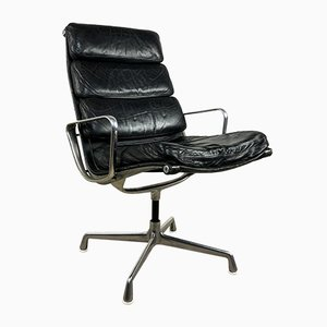 Vintage Softpad EA 216 Chair by Charles & Ray Eames for Herman Miller, 1960s