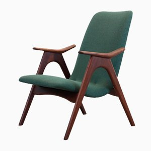 Dutch Teak Armchair by Louis van Teeffelen for WeBe, 1960s