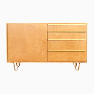 Birch Model DB01 Sideboard by Cees Braakman for UMS Pastoe, 1950s