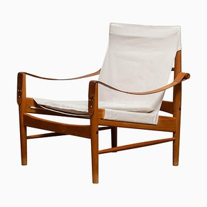 Swedish Safari Lounge Chair by Hans Olsen for Viska Möbler, Kinna, 1960s