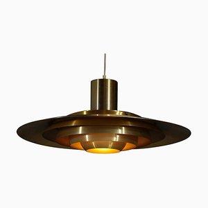 Large Danish Pendant Lamp by Preben Fabricius & Jorgen Kastholm for Nordisk Solar Co., 1960s