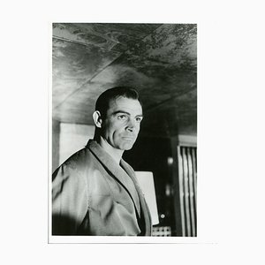 Sean Connery as James Bond in Nr. No by Henri Elwing, 1962