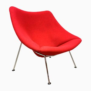 Dutch F157 Oyster Lounge Chair by Pierre Paulin for Artifort, 1980s