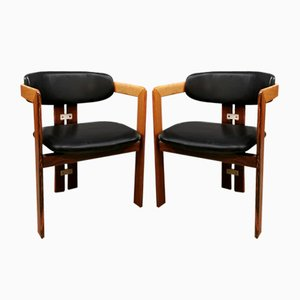 Mid-Century Pamplona Dining Chairs by Augusto Savini for Pozzi, 1960s, Set of 4