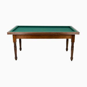 Table de Billard Style Louis Philippe par Maison Philippe Malige, France, 1950s
