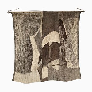 Large Wall Tapestry by Barbara Podkanska for Fabric Gobelin