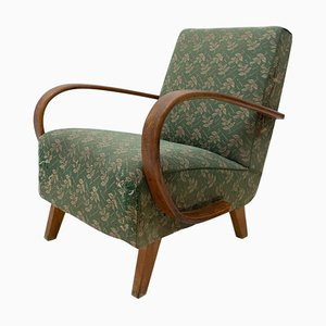 Bentwood Armchair by Jindrich Halabala for Up Závody, 1950s
