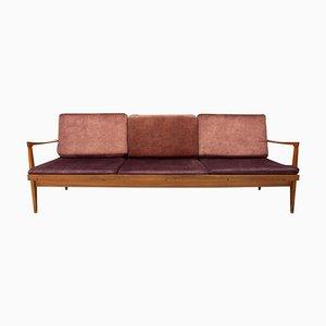 Mid-Century Scandinavian Style Folding Sofa, Czechoslovakia, 1970s