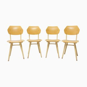 Mid-Century Dining Chairs from Thonet, 1960s, Set of 4