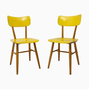 Mid-Century Dining Chairs from Thonet, Czechoslovakia, 1960s, Set of 2