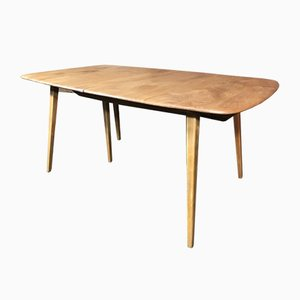 Large Extendable 5-Legged Dining Table from Ecrol