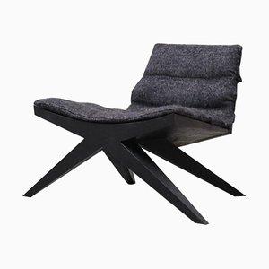 V-Easy Chair aus Iroko Holz von Arno Declercq