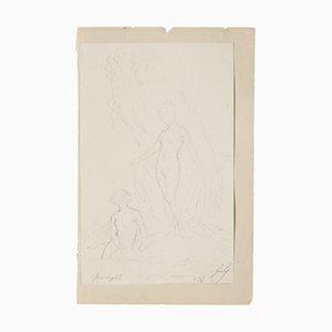 Figures Drawing by Gabriel Guèrin