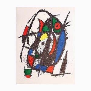Mirò Lithographe II Plate IV Lithografie von Joan Mirò, 1975