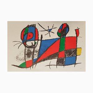 Mirò Lithographe II Plate VI Lithographie von Joan Mirò, 1975