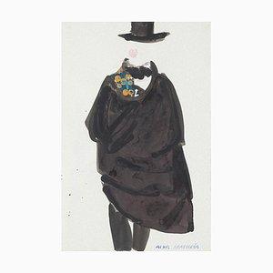 Média Costume Mixed on Paper par Alkis Matheos