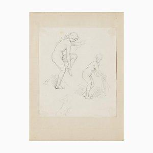 Nude Studies Drawing by Gabriel Guèrin