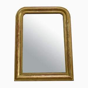 Small Louis-Philippe Mirror in Golden Wood