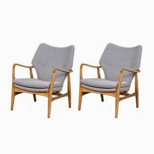 Mid-Century Design Sessel von Madsen & Schubell, 2er Set