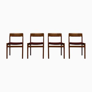 Dining Chairs by Johannes Nørgaard for Nørgaards Møbelfabrik, 1960s, Set of 4