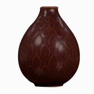 Mid-Century Aluminia Marselis Vase by Nils Thorsson for Royal Copenhagen