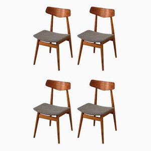 Dining Chairs from Habeo, 1950s, Set of 4