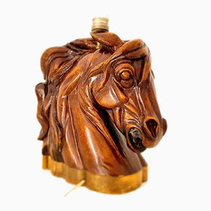 Horse Bust Table Lamp, 1950s
