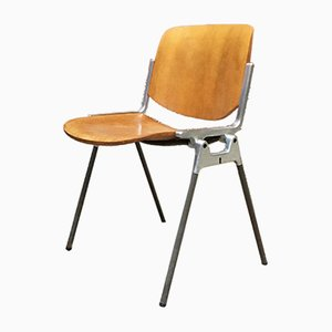 DSC Italian Stackable Dining Chair by Giancarlo Piretti for Castelli / Anonima Castelli, 1960s